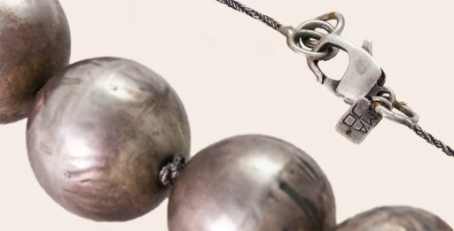 Coso 50, Necklace with Copper Spheres, Detail   Majo