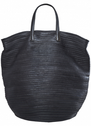 Boes 9370: Double Handle Leather Shopper Bag