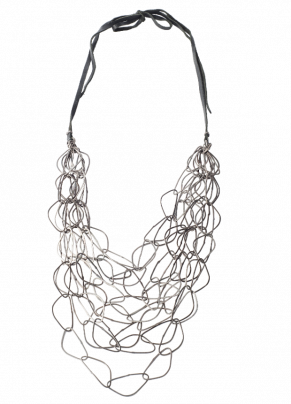 Codp 11, Bronze Necklace with Silver elements