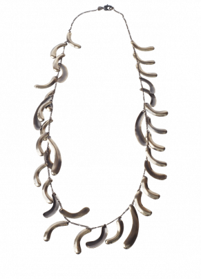 Coto 07, Necklace in bronze