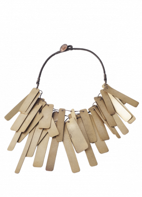 Coto 18, Necklace in bronze