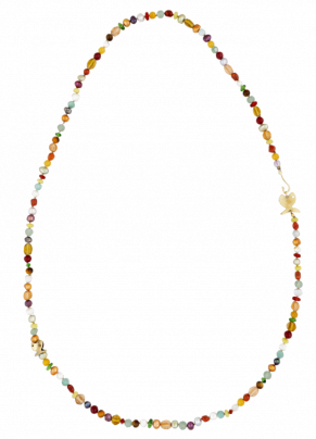 Coto 04 Necklace in bronze and semiprecious stones